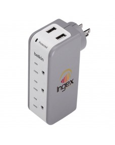 Belkin 3 Outlet Surge Protector with USB Ports (2.1A)