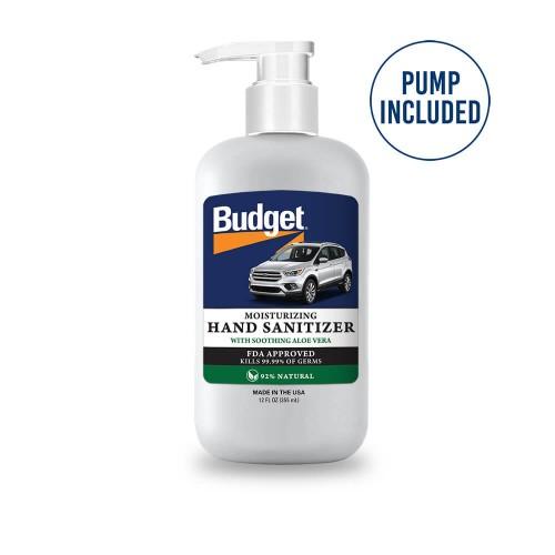 Moisturizing 12 oz Aloe Vera Gel Hand Sanitizer (Made in USA)