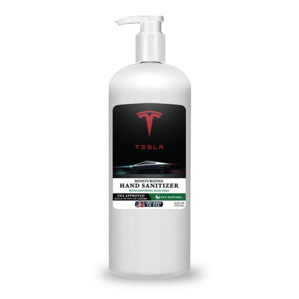 Moisturizing 25oz Aloe Vera Gel Hand Sanitizer (Made in USA)