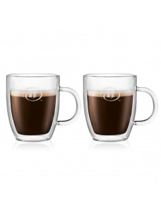 Bodum Bistro 10oz Double Wall Mug Set - 2 pcs