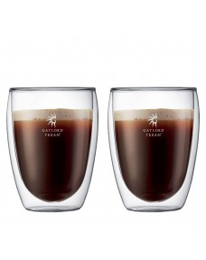 Bodum Pavina 12oz Double Wall Glass Two Piece Set
