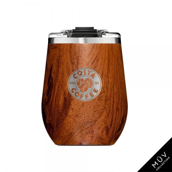 BruMate Uncork'd XL 14oz Wine Tumbler - Walnut
