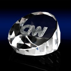 Wedge Shaped Paperweight - Medium