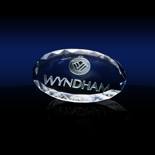 Oval Shaped Paperweight