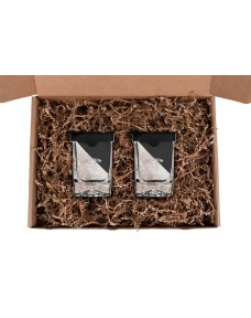 Corkcicle Whiskey Wedge Gift Set