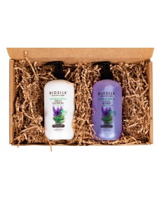 Biosilk Lotion + Biosilk Soap Gift Set