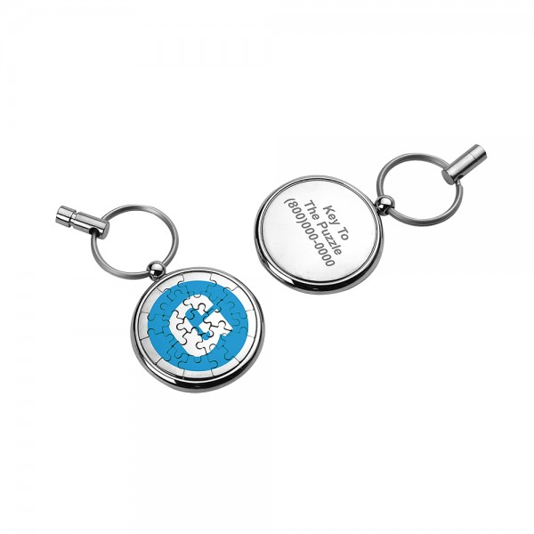Magnetic Puzzle Keychain ( 19 pieces)