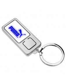 Reflecto Keychain with Blue Light