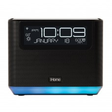 iHome iAVS16 Alexa Built-in Bedside/Home Office Speaker System