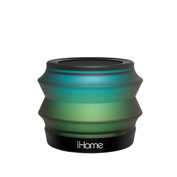 iHome iBT62 Color Changing Bluetooth Collapsible Mini Speaker