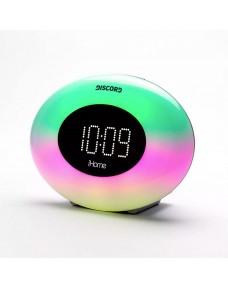 iHome iM30SC Color Changing FM Alarm Radio & USB Charging