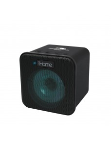 iHome iBT58 Color Changing Rechargeable Bluetooth Speaker with Speakerphone