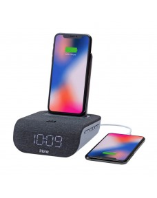 iHome iBTW20 Dual-Charging Alarm Clock and Wireless Speaker