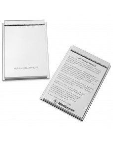 Meteor Memo Pad Holder with Cover