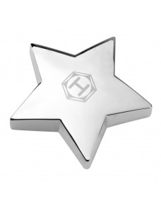 Super Star Silver Paperweight