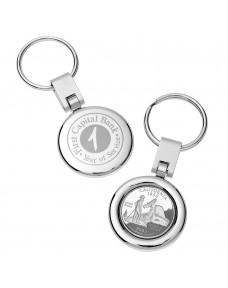 State Quarter Keychain
