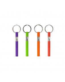 Spectrum Ballpoint Pen Keychain