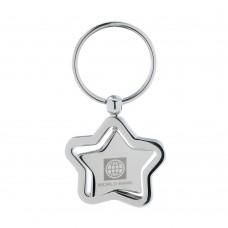 Spinning Star Keychain