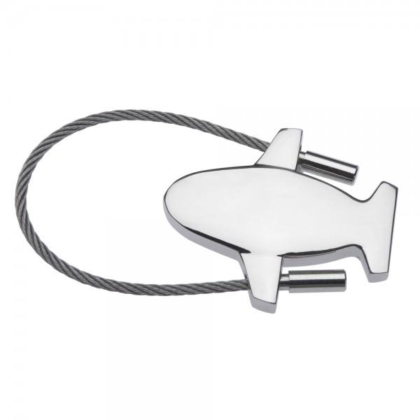 Avia Airplane Keychain