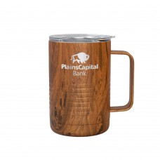 Patriot 16oz Mug - Woodgrain