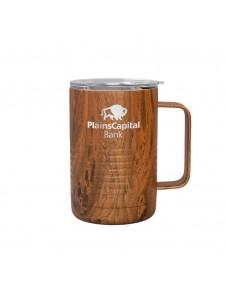 Patriot 16oz Mug - Woodgrain