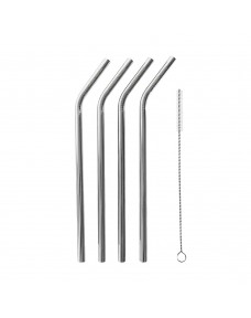 Patriot Stainless Steel Straws (Pack of 4)