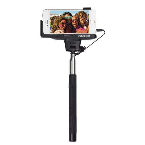 T1017BK Wired Selfie Stick