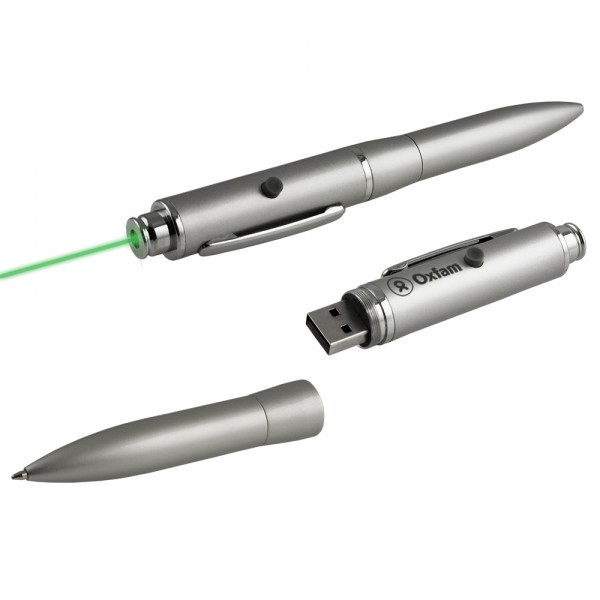 Gorizia Green Laser Pointer & Pen