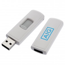 Shuffle USB 2.0 Retractable Flash Drive