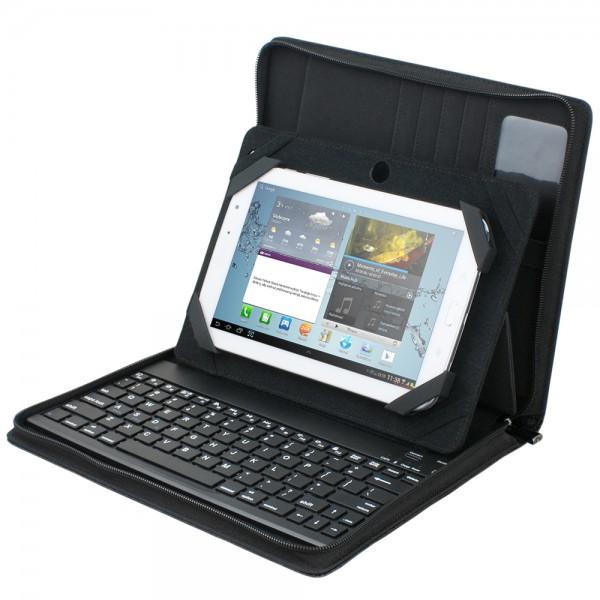 Palazzo Universal Tablet Case w/Bluetooth Keyboard