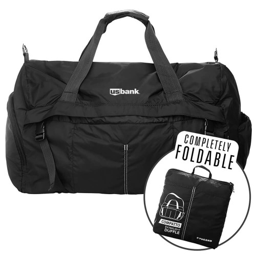 Tucano Compatto XL Duffle Super Light Completely Foldable Weekender Bag