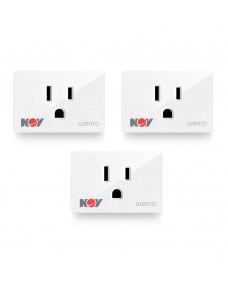 Wemo Wifi Smart Plug 3-Pack