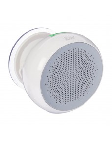 iLuv Aud Shower Water Resistant Bluetooth Speaker with Hands-Free Talking