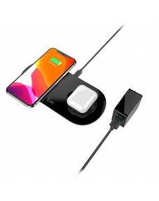 iLuv 2-in-1 Wireless Charging Pad