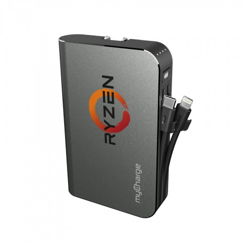 myCharge Hub Turbo 10050 Portable Charger - 10050mAh