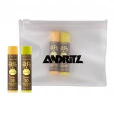 Sun Bum Lip Kit Set of 2 Lip Balms + EVA Biodegradable Pouch